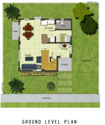 Ridgeview_Chloe - Ground Level Plan