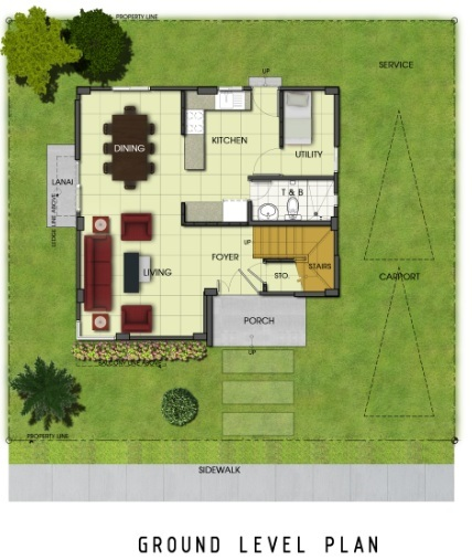 Ridgeview_Daphne - Ground Level Plan