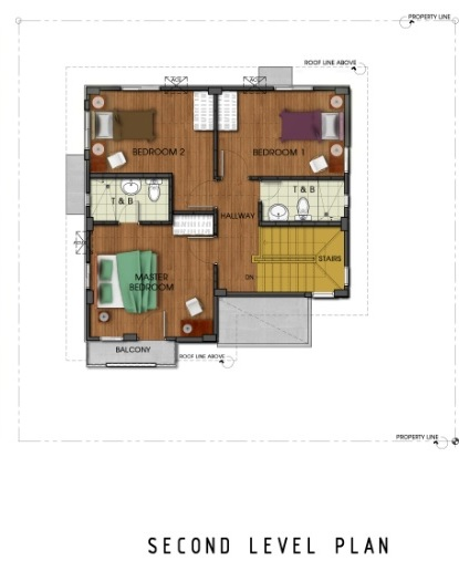 Ridgeview_Daphne - Second Level Plan