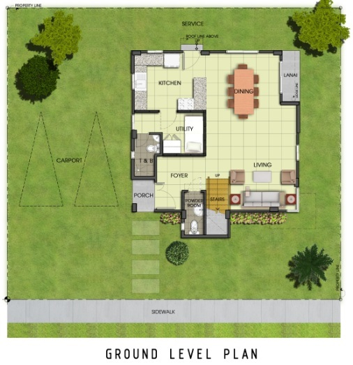 Ridgeview_Holly - Ground Level Plan