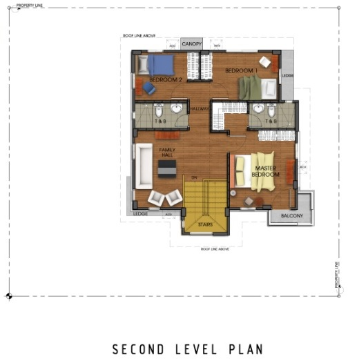 Ridgeview_Holly - Second Level Plan