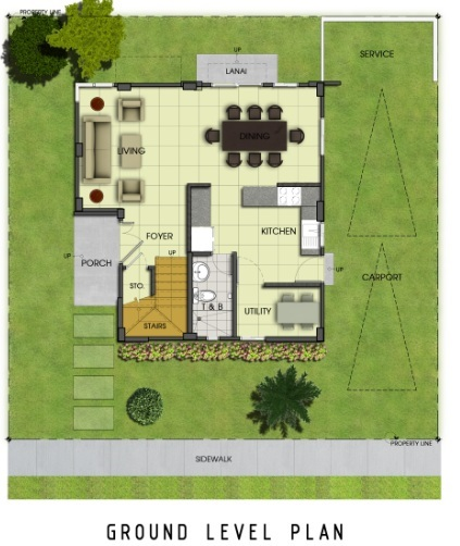 Ridgeview_Iris - Ground Level Plan