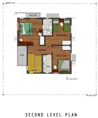 Ridgeview_Iris - Second Level Plan