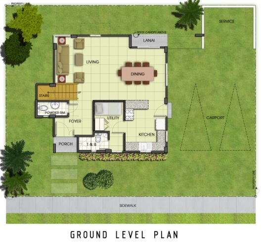 Ridgeview_Jasmine - Ground Level Plan