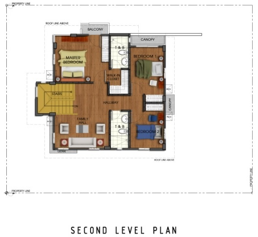 Ridgeview_Jasmine - Second Level Plan
