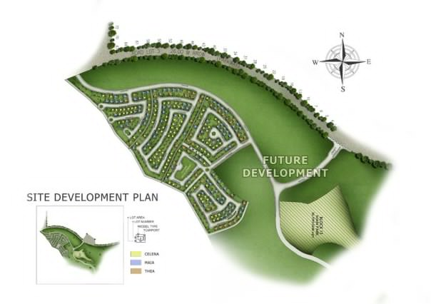 Avida Woodhill Settings Nuvali - Ayala Nuvali Properties - Development Plan